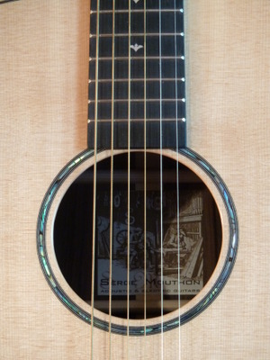 Guitare Dreadnought Serge Mouthon